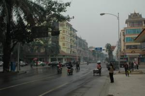 Un carrefour de Jinghong